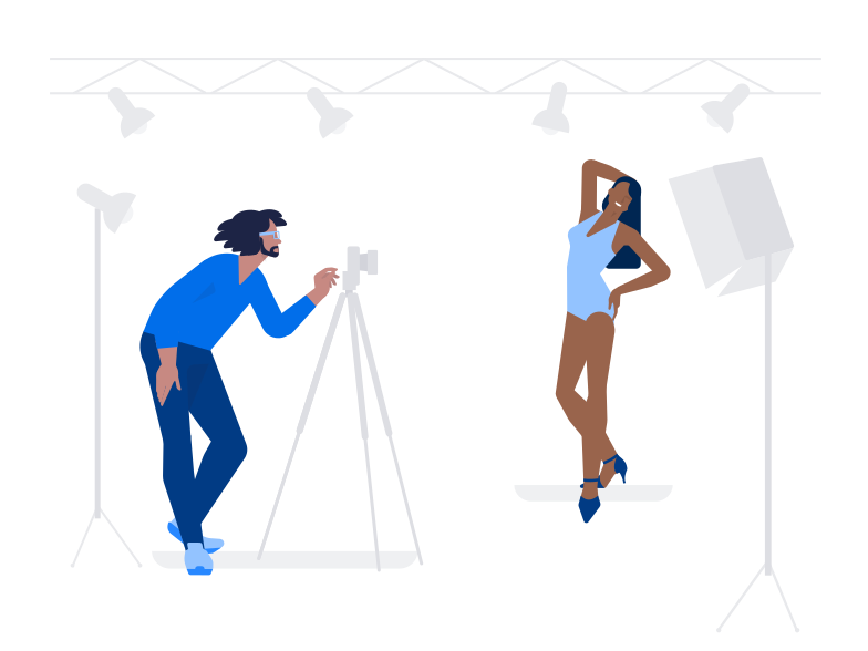 Photo shoot Clipart illustration in PNG, SVG