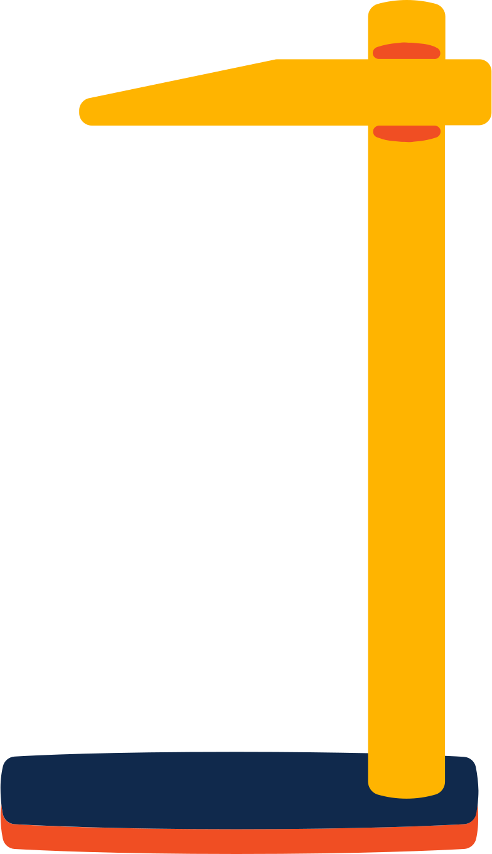 stadiometer Clipart illustration in PNG, SVG