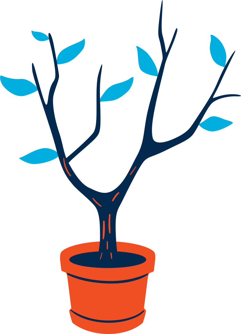 style tree in flower pot Vector images in PNG and SVG | Icons8 Illustrations