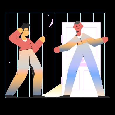 Иллюстрация Нет входа в стиле  в PNG и SVG | Icons8 Иллюстрации