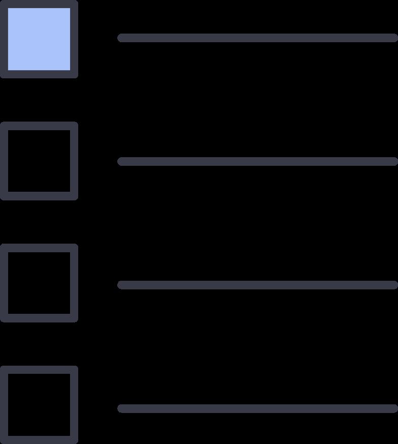 Ilustración de clipart de Lista de texto en PNG, SVG
