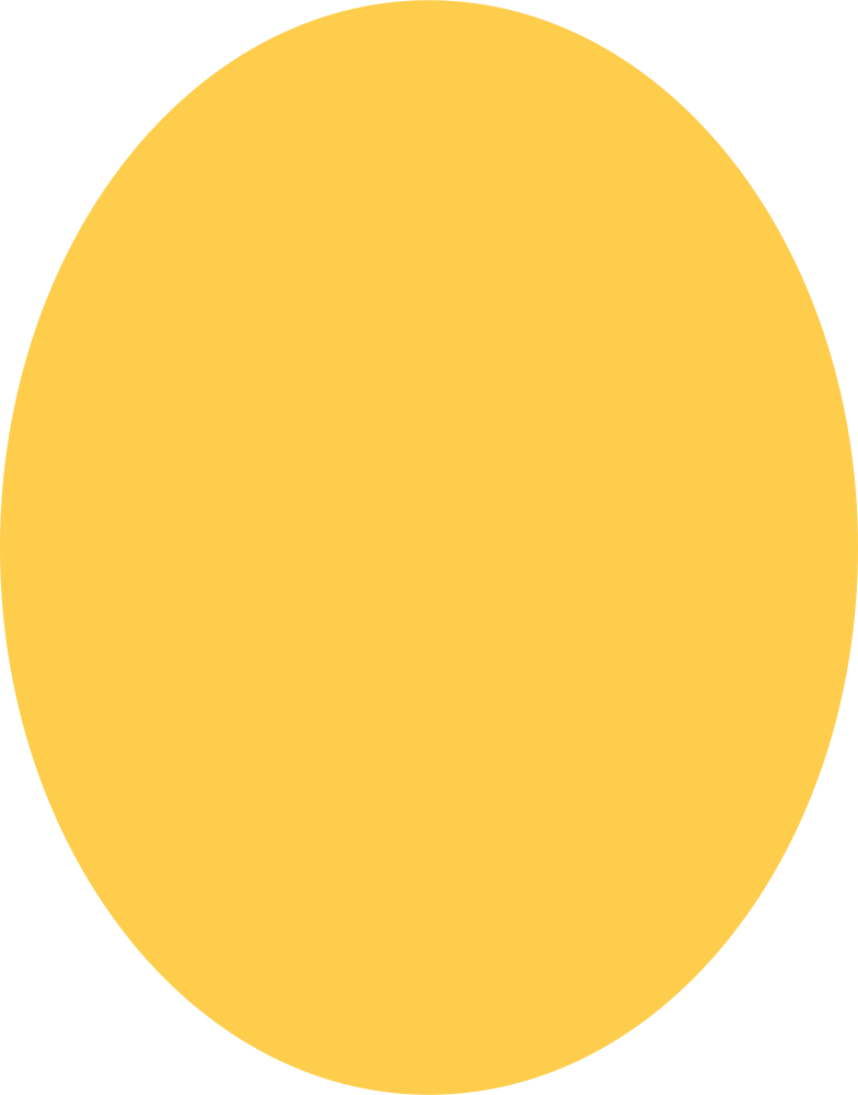 ellipse-yellow Clipart illustration in PNG, SVG
