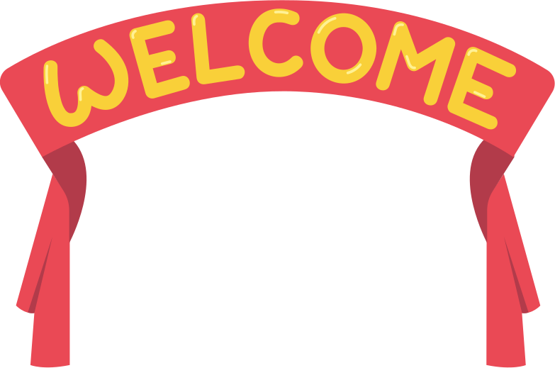 welcome Clipart illustration in PNG, SVG