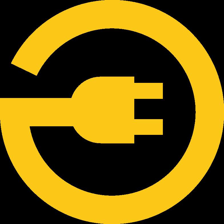 plug sign Clipart illustration in PNG, SVG