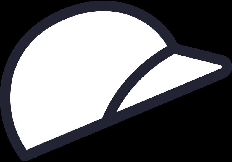 baseball helmet Clipart illustration in PNG, SVG