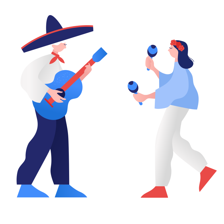 style Mexican music Vector images in PNG and SVG | Icons8 Illustrations