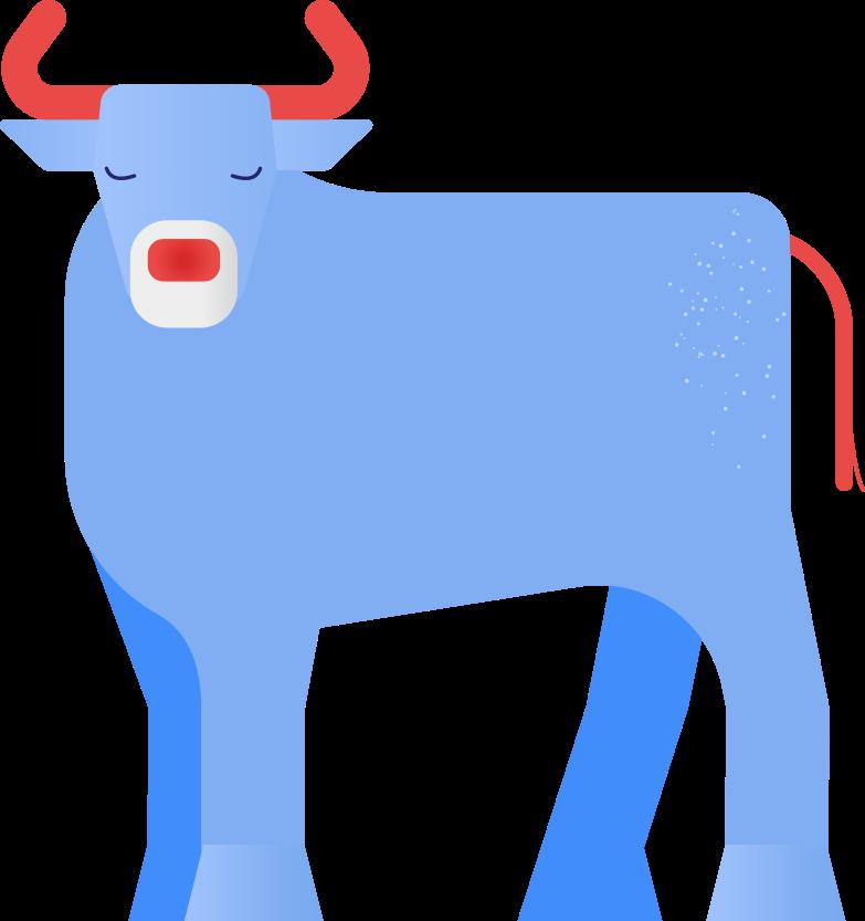 bull Clipart illustration in PNG, SVG