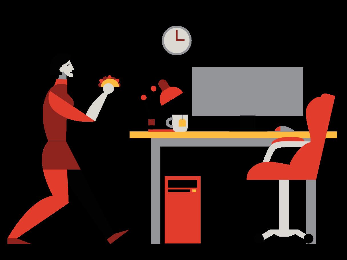 Mittagessen Clipart-Grafik als PNG, SVG