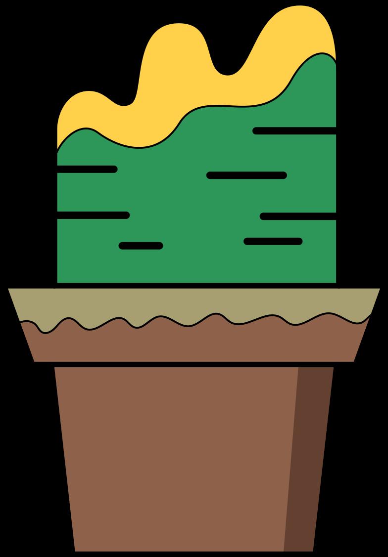 plant pot Clipart illustration in PNG, SVG