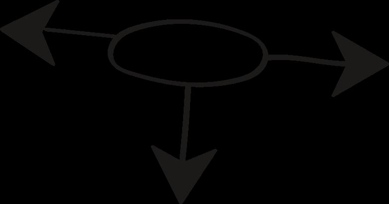 tk black arrow round Clipart illustration in PNG, SVG