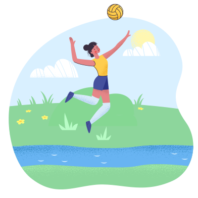 style Playing with the ball images in PNG and SVG | Icons8 Illustrations