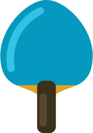 style ping pong paddle images in PNG and SVG | Icons8 Illustrations