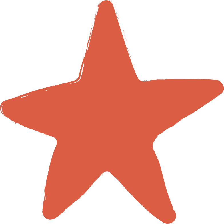 star-red Clipart illustration in PNG, SVG