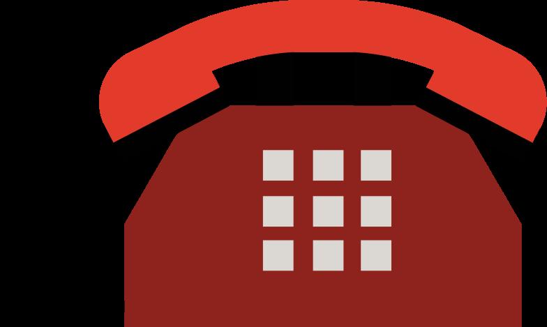 Illustration clipart téléphone aux formats PNG, SVG