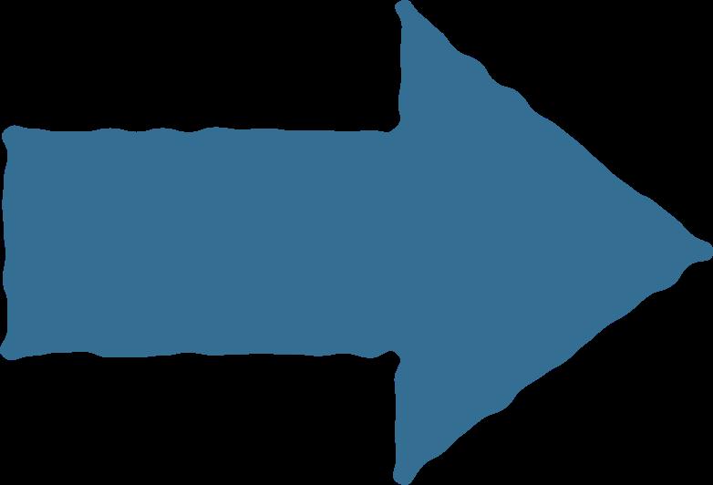 arrow blue Clipart illustration in PNG, SVG