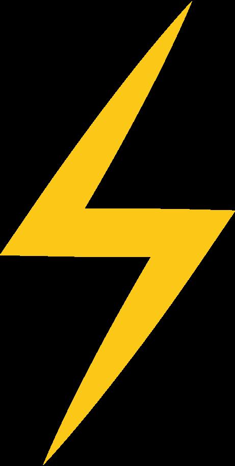 lightning Clipart illustration in PNG, SVG