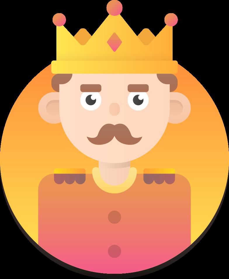 king Clipart illustration in PNG, SVG