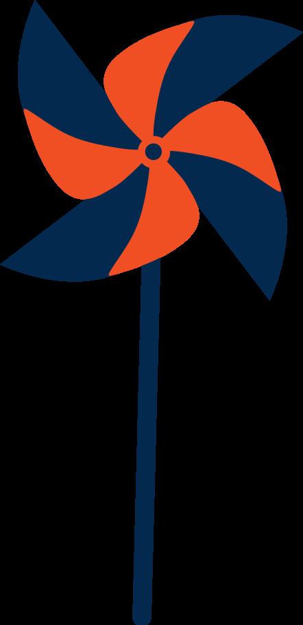 paper weather vane Clipart illustration in PNG, SVG