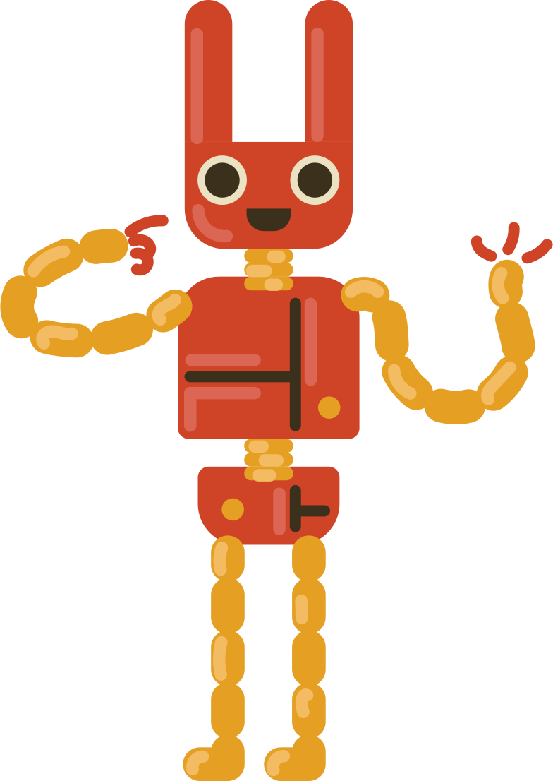 style robot rabbit Vector images in PNG and SVG | Icons8 Illustrations