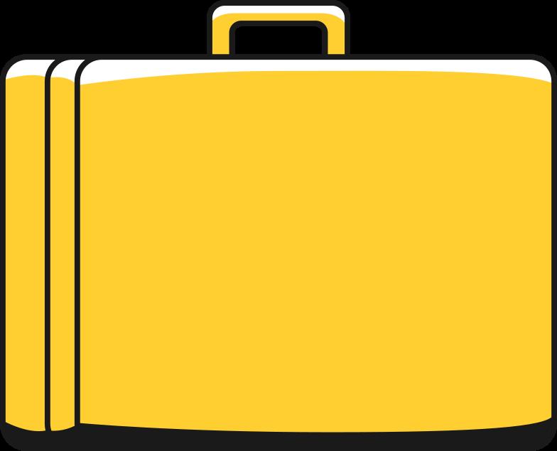briefcase Clipart illustration in PNG, SVG