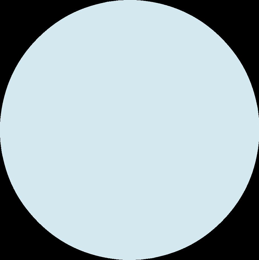 circle light blue Clipart illustration in PNG, SVG