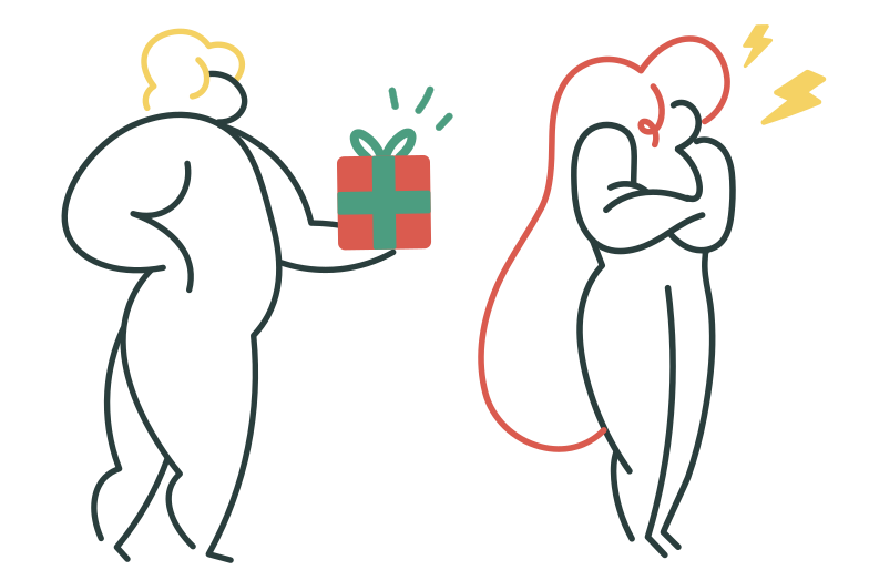 Appologize Clipart illustration in PNG, SVG