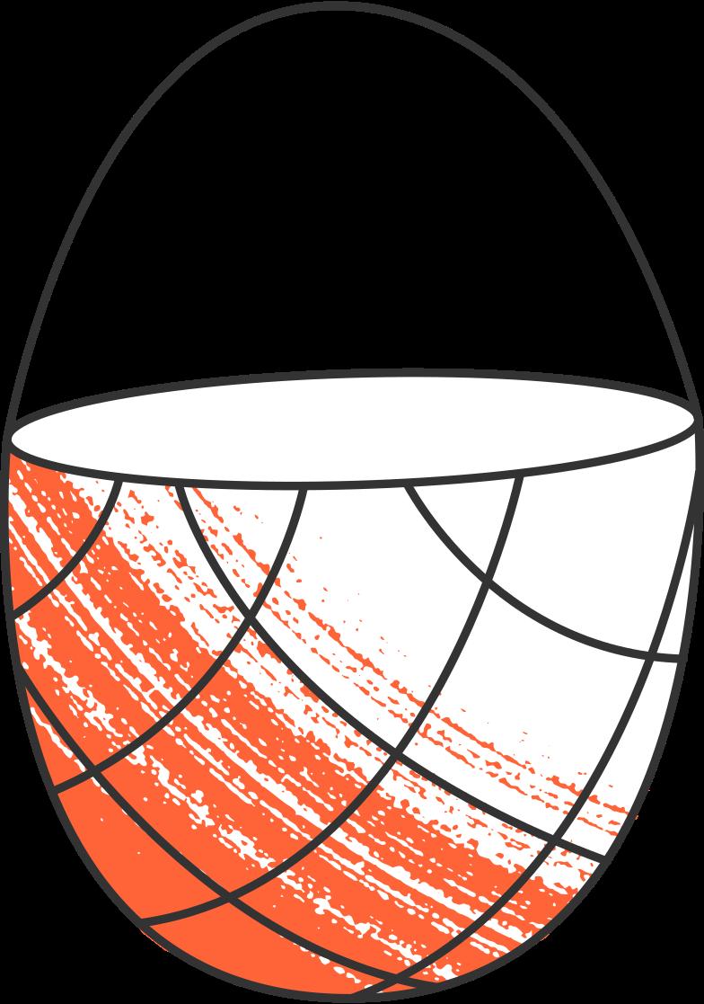 empty basket Clipart illustration in PNG, SVG