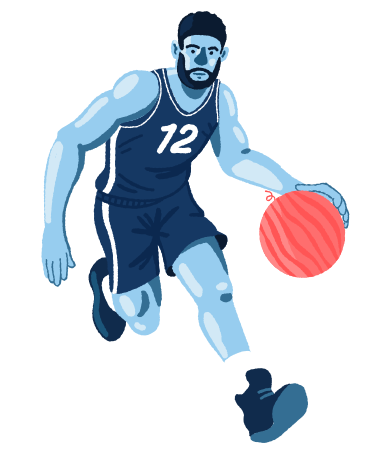 style Unusual basketball images in PNG and SVG | Icons8 Illustrations