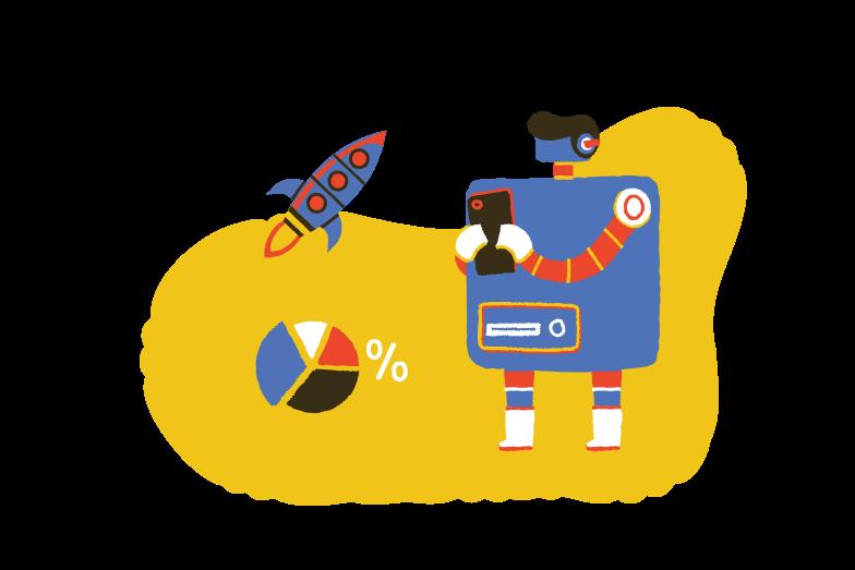 Technology startup Clipart illustration in PNG, SVG