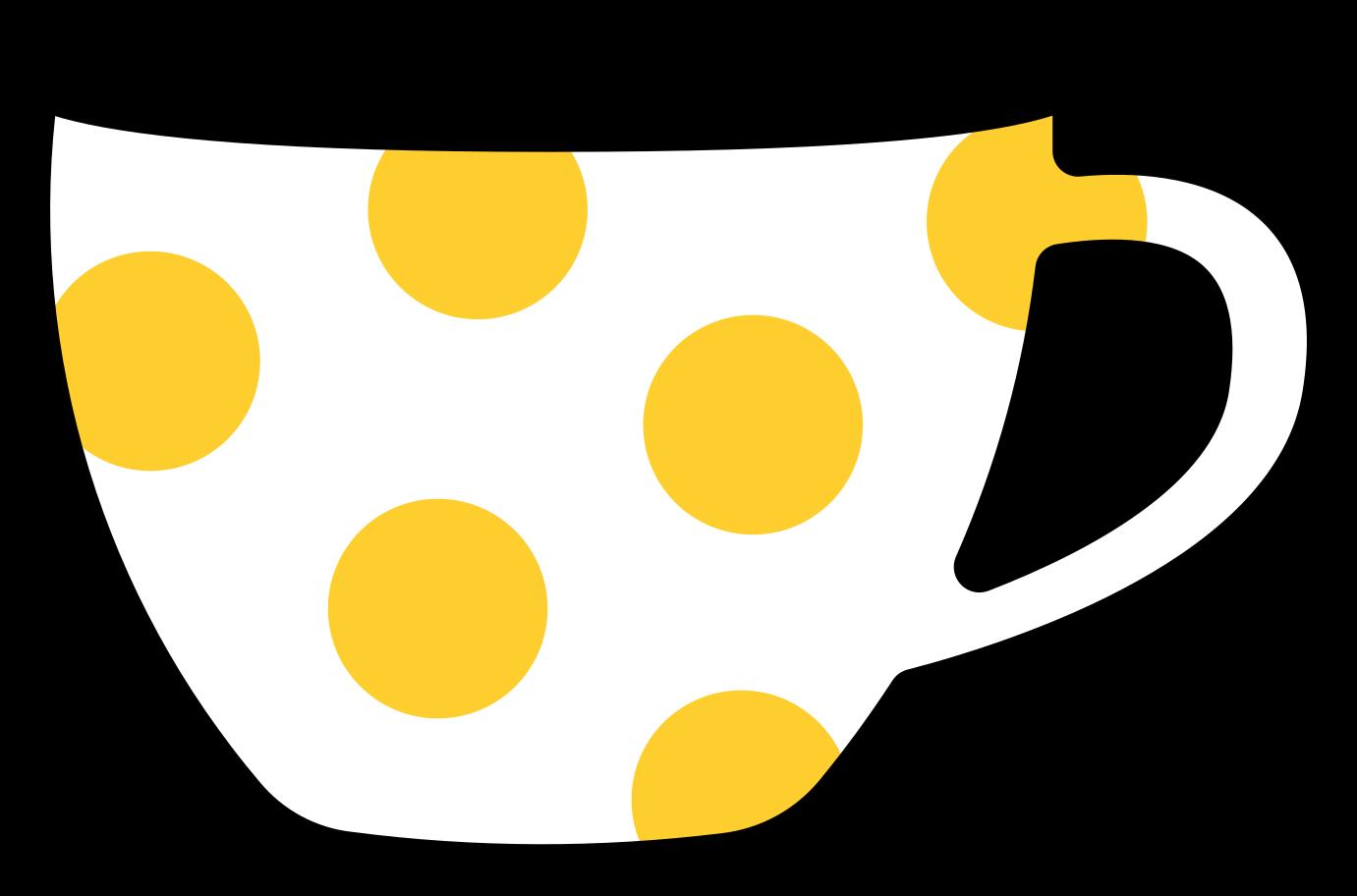 Ilustração de clipart de xícara de café em PNG e SVG
