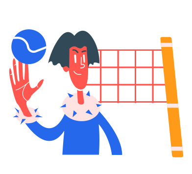 style volleyball images in PNG and SVG | Icons8 Illustrations