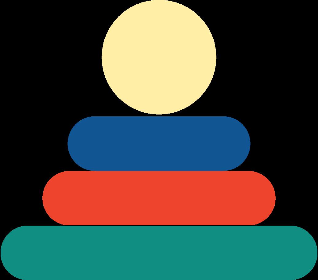 PNGとSVGの  スタイルの ピラミッドのおもちゃ ベクターイメージ | Icons8 イラスト