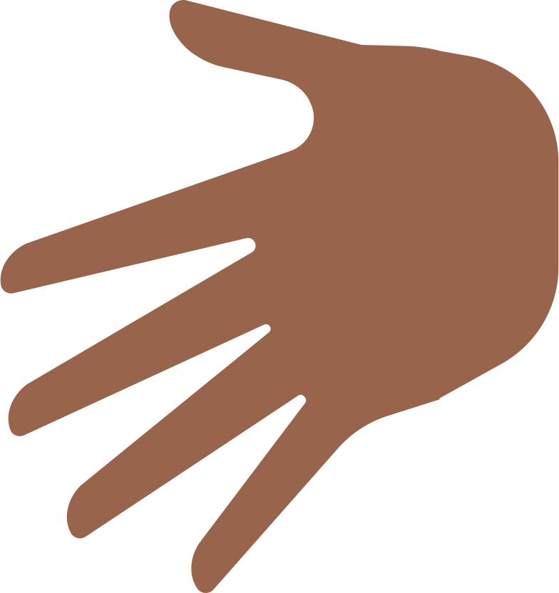 palm hand Clipart illustration in PNG, SVG