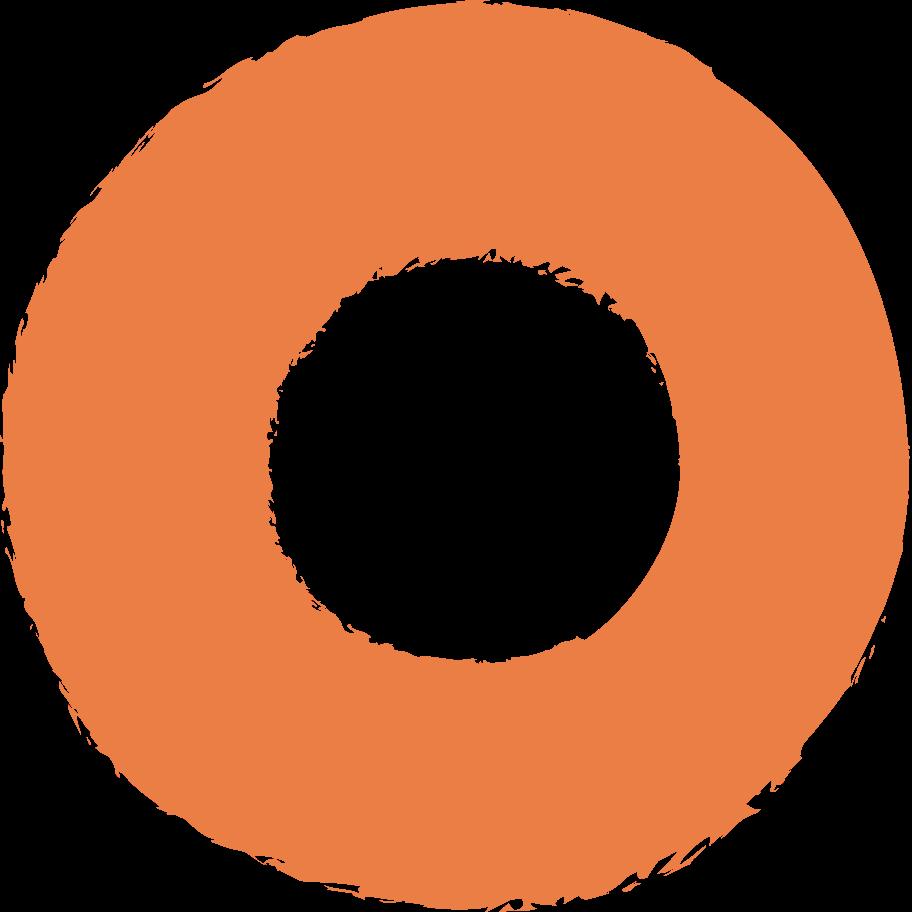 ring-orange Clipart illustration in PNG, SVG