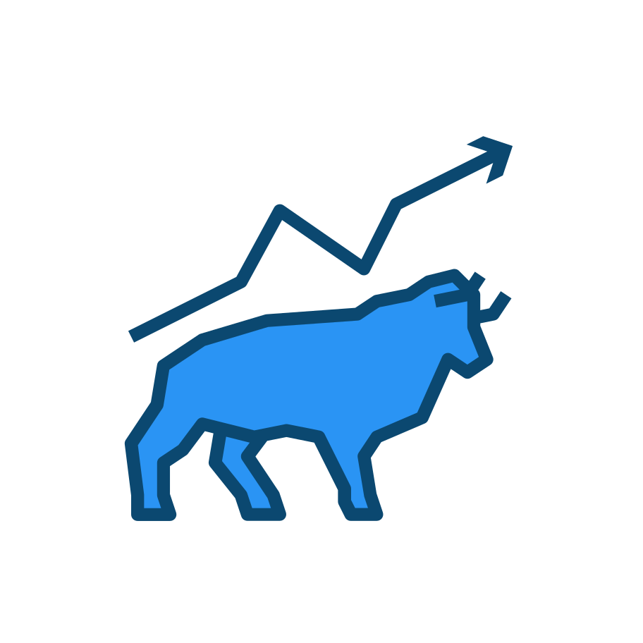 style Bull market images in PNG and SVG | Icons8 Illustrations