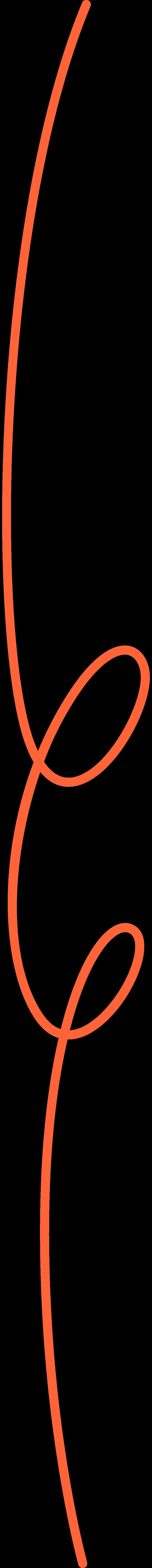 Curly line abbestellen Clipart-Grafik als PNG, SVG