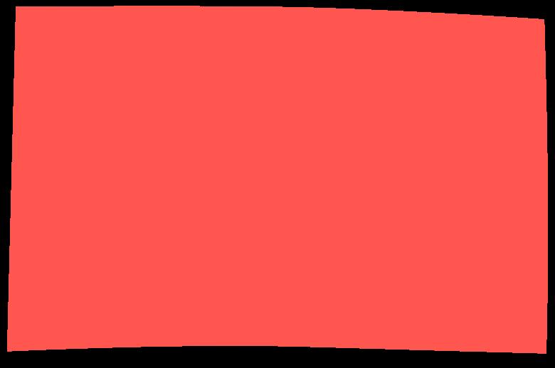 Retângulo vermelho Clipart illustration in PNG, SVG