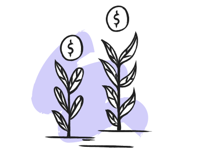 style Grow your money images in PNG and SVG | Icons8 Illustrations
