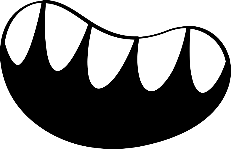 mouth Clipart illustration in PNG, SVG