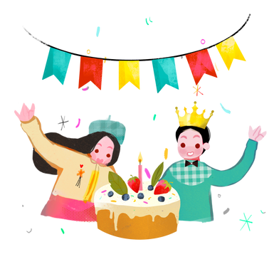 style Birthday party images in PNG and SVG | Icons8 Illustrations