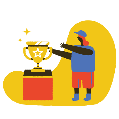 style Take your trophy images in PNG and SVG | Icons8 Illustrations