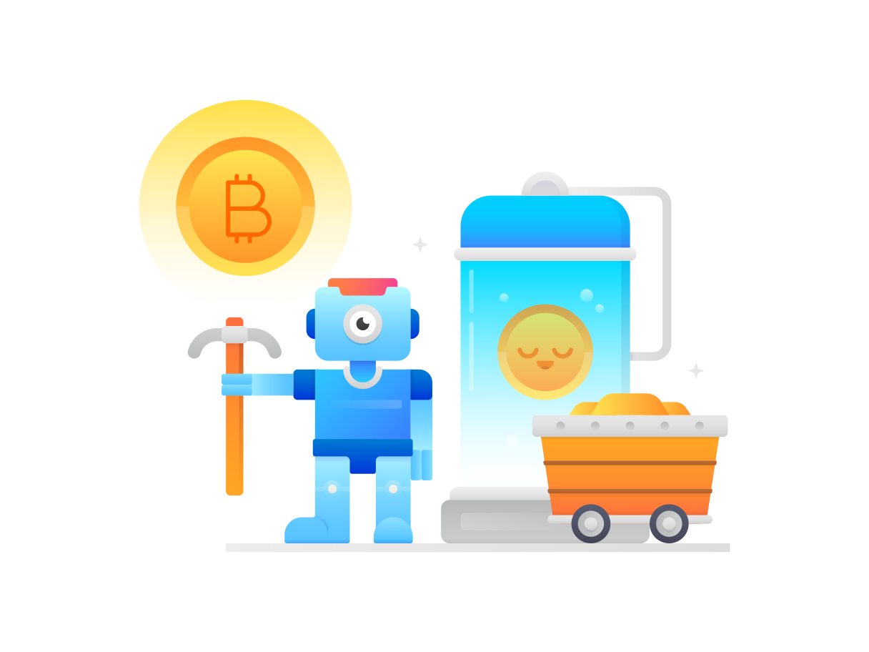 style Bitcoin mining Vector images in PNG and SVG   Icons8 Illustrations