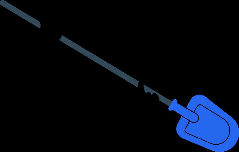 schaufel Clipart-Grafik als PNG, SVG