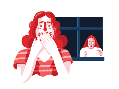 style Creepy neighbour images in PNG and SVG | Icons8 Illustrations