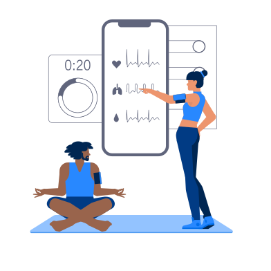 style Fitness Gadgets images in PNG and SVG | Icons8 Illustrations