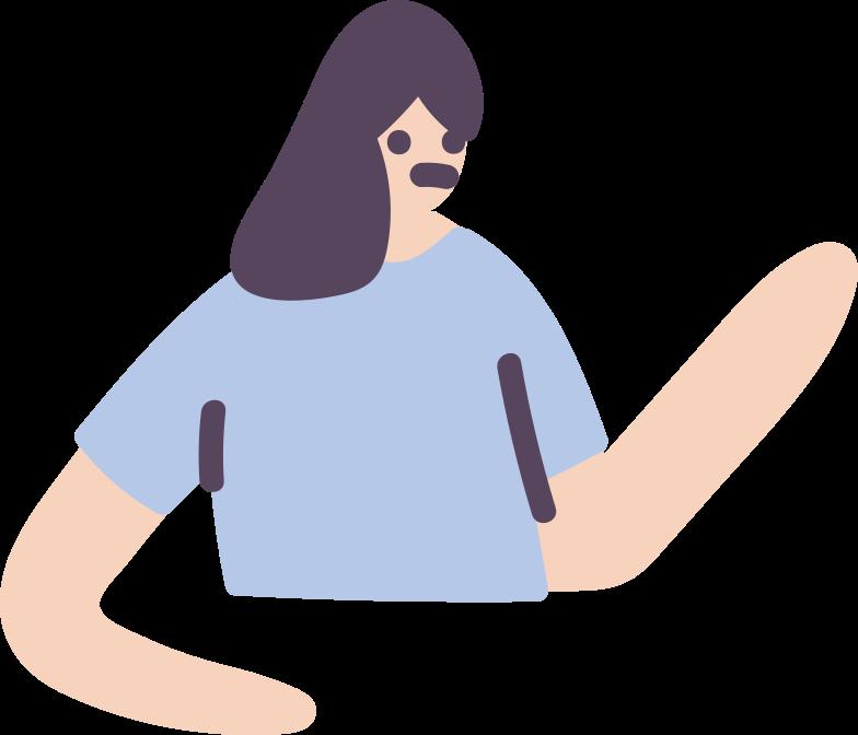 upper body Clipart illustration in PNG, SVG