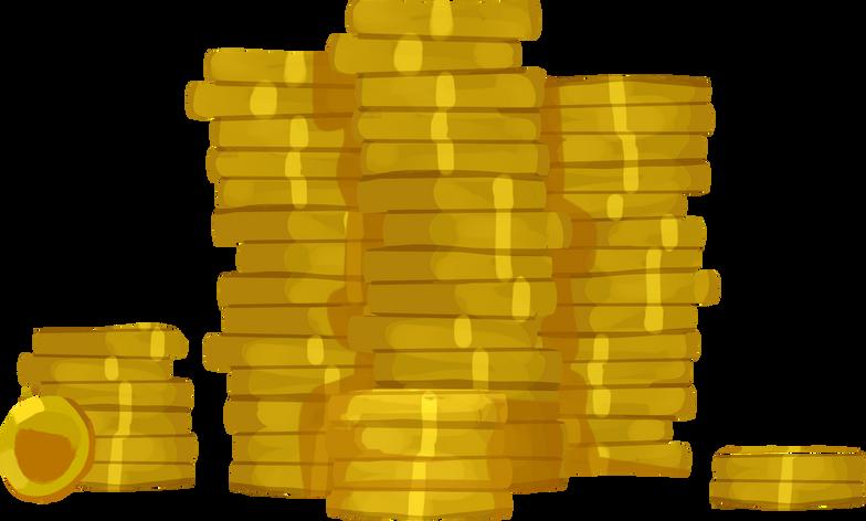 Imágenes vectoriales piles of coins en PNG y SVG estilo  | Ilustraciones Icons8