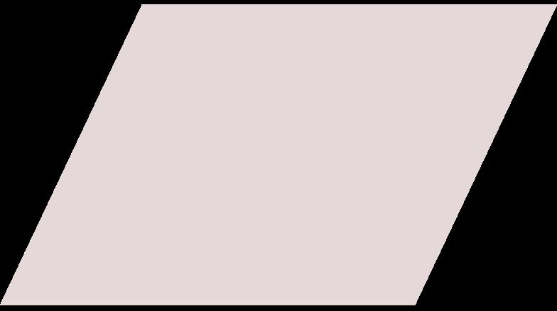 parallelogram nude Clipart illustration in PNG, SVG