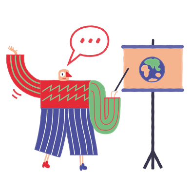 style Geographer images in PNG and SVG | Icons8 Illustrations