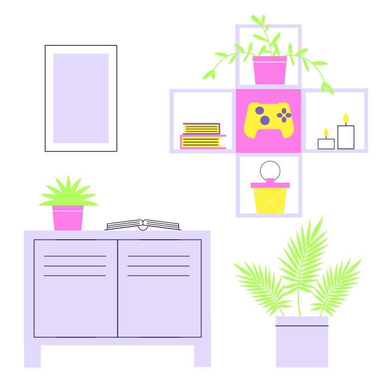 style Interior of the room Vector images in PNG and SVG | Icons8 Illustrations